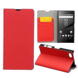 Etui Sony Xperia Z5 Compact Rouge - Crazy Kase
