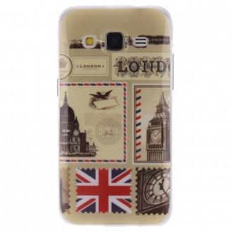 Coque Galaxy Core Prime motif Monuments de Londres - Crazy Kase