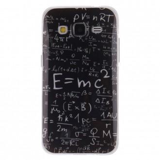 Coque Galaxy Core Prime Noire et Formules Mathématiques - Crazy Kase