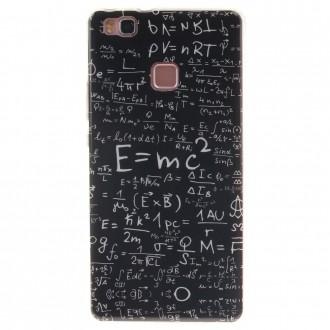 Coque Huawei P9 Lite Noire motif Formules Mathématiques - Crazy Kase