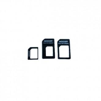 Pack Adaptateurs Universels pour Nano et Micro Sim vers Micro et Sim standard - Noosy