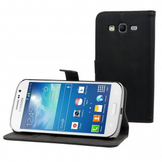 Etui Galaxy Grand Plus Slim S Folio Noir - Muvit