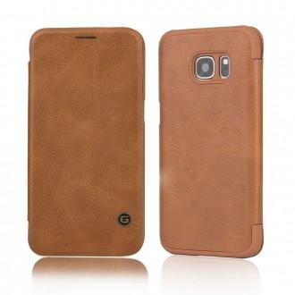 Etui Galaxy S7 Business Series Marron - G-Case