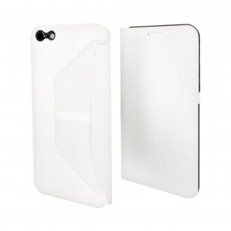 Etui iPhone 6 / 6S Easy Folio Blanc - Muvit