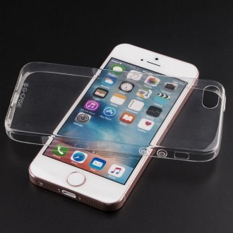 Coque iPhone SE / 5S / 5 Transparente souple - G-Case