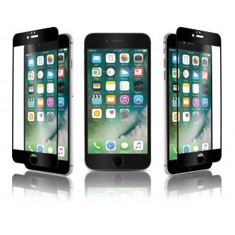 Film iPhone 7 Plus protection écran verre trempé contour Noir - Qdos