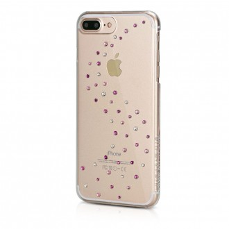 Coque iPhone 8 Plus/7 Plus Milky Way Rose Sparkles avec cristaux de Swarovski - Bling My Thing