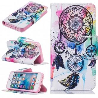 Etui iPhone SE / 5S /5 motif Attrape Rêve Coloré - Crazy Kase