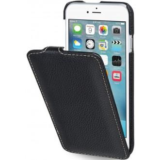 Etui iPhone 6S Ultraslim noir en cuir véritable - Stilgut