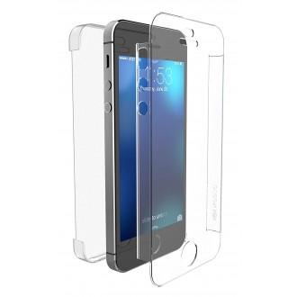 Coque iPhone SE / 5S / 5 Defense 360° transparente - Xdoria