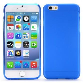 Coque iPhone 6 / 6S Bleue transparente souple - Crazy Kase