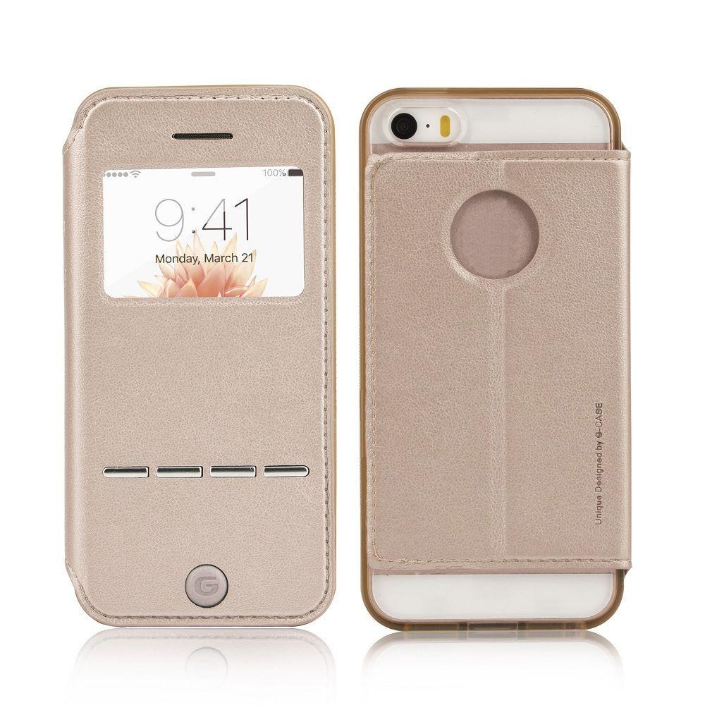 Etui iphone 5se 5s 5 dor avec fen tre g case for Agrandir fenetre mac