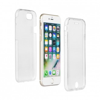 Coque iPhone 8 Plus/7 Plus protection 360 ° Transparente souple - Crazy Kase