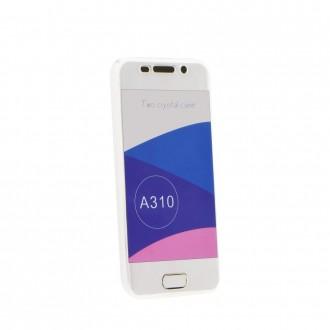 Coque Galaxy A3 (2016) protection 360 ° Transparente souple - Crazy Kase