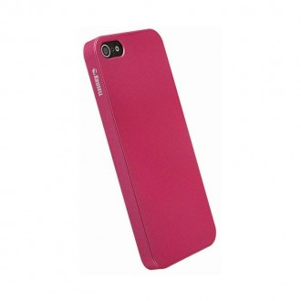 Coque Krusell ColorCover pour Apple iPhone 5 rose métal