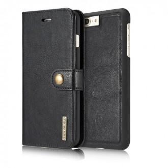 Etui Iphone 7 Plus Portefeuille Noir - DG MING