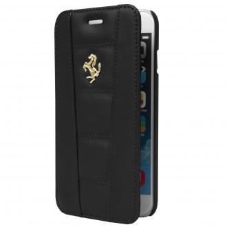 Etui Iphone 6 Plus / 6s Plus Folio Noir - Ferrari