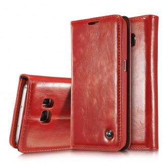Etui Samsung Galaxy S7 Portefeuille Rouge - CaseMe