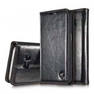 Etui Samsung Galaxy S7 Portefeuille Noir - CaseMe