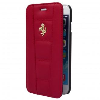 Etui iPhone 6 / 6s Folio Rouge - Ferrari