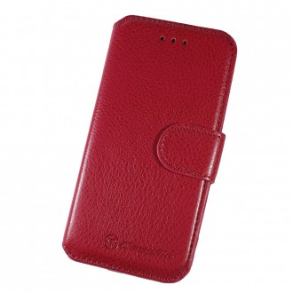 Etui Book type rouge pour iPhone 6 Plus - CaseMe