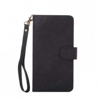 Etui universel smartphone 4.3 à 4.8 pouces portecartes noir - Crazy Kaze