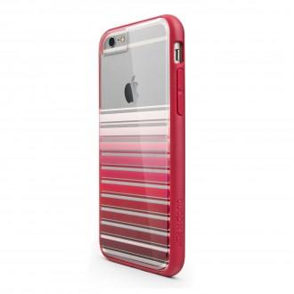 Coque iPhone 6 / 6s Scene Plus Rayé rose Xdoria
