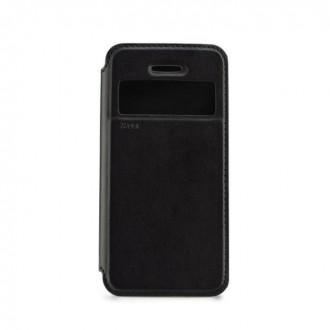 Etui LG K4 avce fenêtre de visualisation noir - Roar