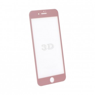 Film iPhone 7 protection écran verre trempé contour Rose Gold - Blue Star
