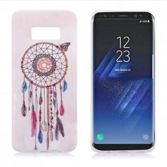 Coque Galaxy S8 motif Attrape Rêves et Papillon - Crazy Kase