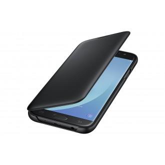 Etui Galaxy J7 (2017) Noir Wallet Cover - Samsung