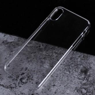 Coque iPhone X Transparente et rigide - Crazy Kase
