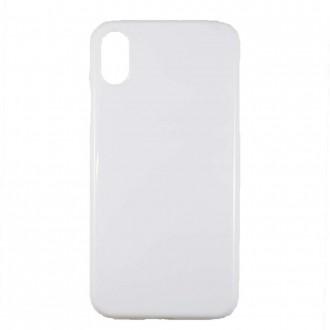 Coque iPhone X blanche et rigide - Crazy Kase