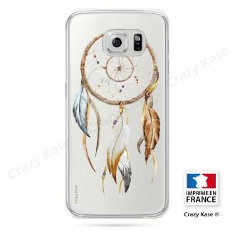 Coque Galaxy S6 souple motif Attrape Rêves Nature - Crazy Kase