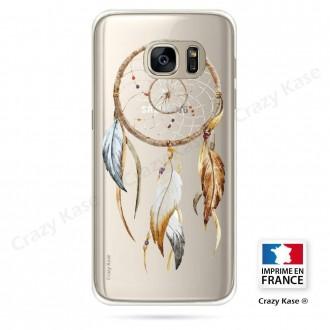 Coque Galaxy S7 souple motif Attrape Rêves Nature - Crazy Kase