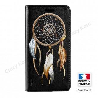 Etui iPhone SE / 5S / 5 noir motif Attrape rêve nature - Crazy Kase