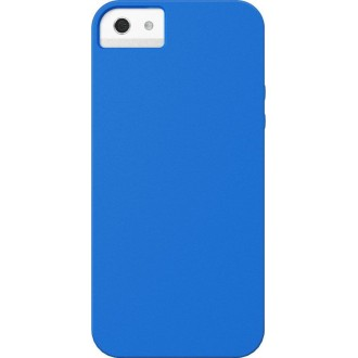 Coque Xdoria soft electric blue pour Apple iPhone 5