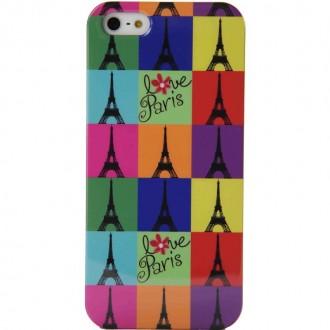 Coque Akashi Eiffel Colors pour Apple iPhone 5