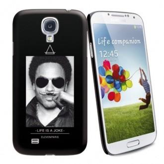 Coque de protection licence Eleven Paris motif Lenny Kravitz pour Samsung Galaxy S4 i9500