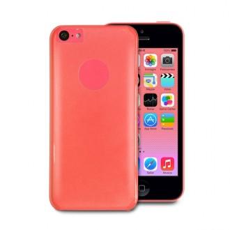 Coque Puro crystal rose pour Apple iPhone 5C