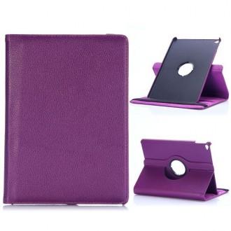 Etui iPad Air 2 Rotatif 360° Simili-cuir Violet