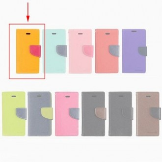 Etui porte carte Sony Xperia Z3 jaune et rose