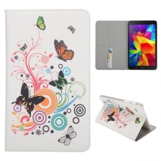 Etui Galaxy Tab 4 8,0 motif Papillon et cercle