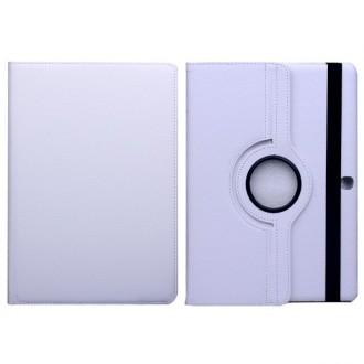 Etui Galaxy Tab S 10.5 Rotatif 360° Simili-cuir Blanc