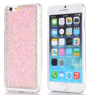 Coque iPhone 6 strass Roses