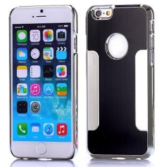 Coque iPhone 6 Aluminium brossé noire