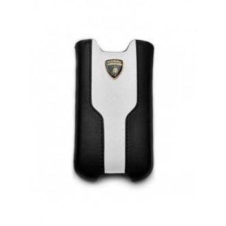 Housse Lamborghini Luxtyle iline noir et blanc