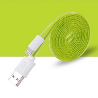 Câble USB vers Lightning Vert 120cm