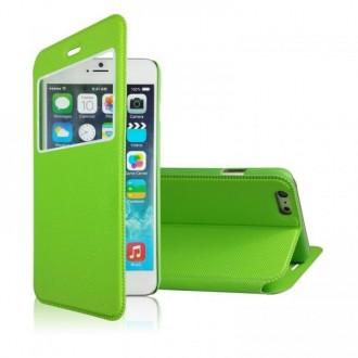 Etui iPhone 6 Vert fermeture aimantée