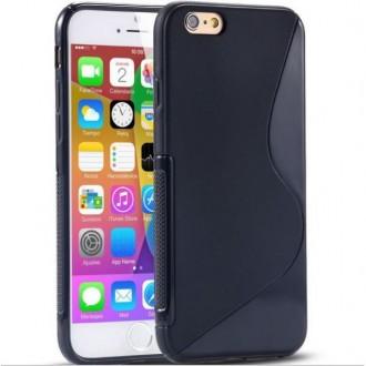 Coque iPhone 6 en Silicone gel Noire